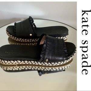 Kate Spade Sandals Shoes Leather Slides Zahara